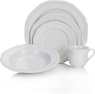 plain white china