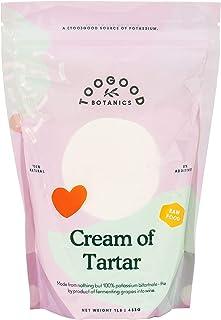 Cream of Tartar, Premium Food-grade, non-GMO, Gluten-free, Vegan, Keto-friendly, Baking Agent (1 pound)