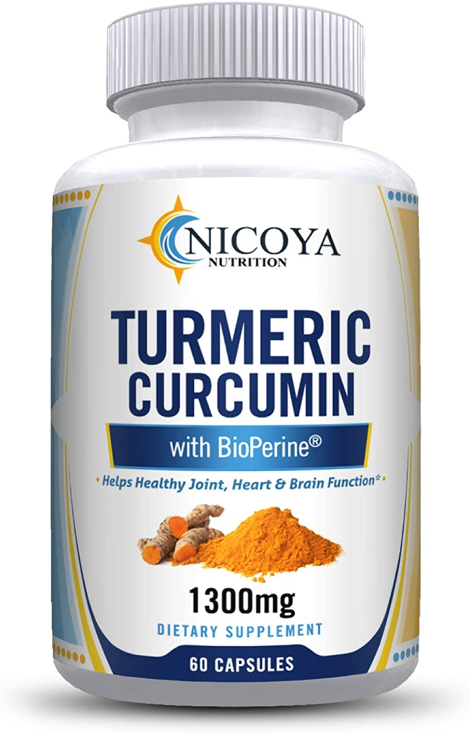 Turmeric Curcumin with Bioperine 1300mg Support - Popular products Joint Premium specialty shop
