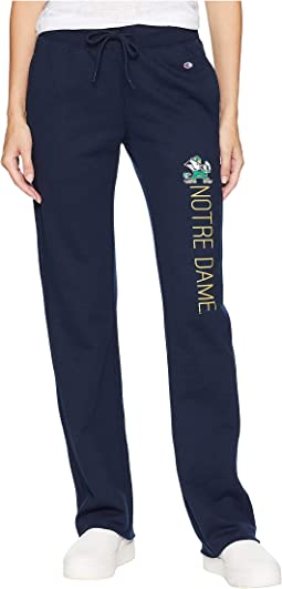 Notre Dame Fighting Irish University Fleece Open Bottom Pants