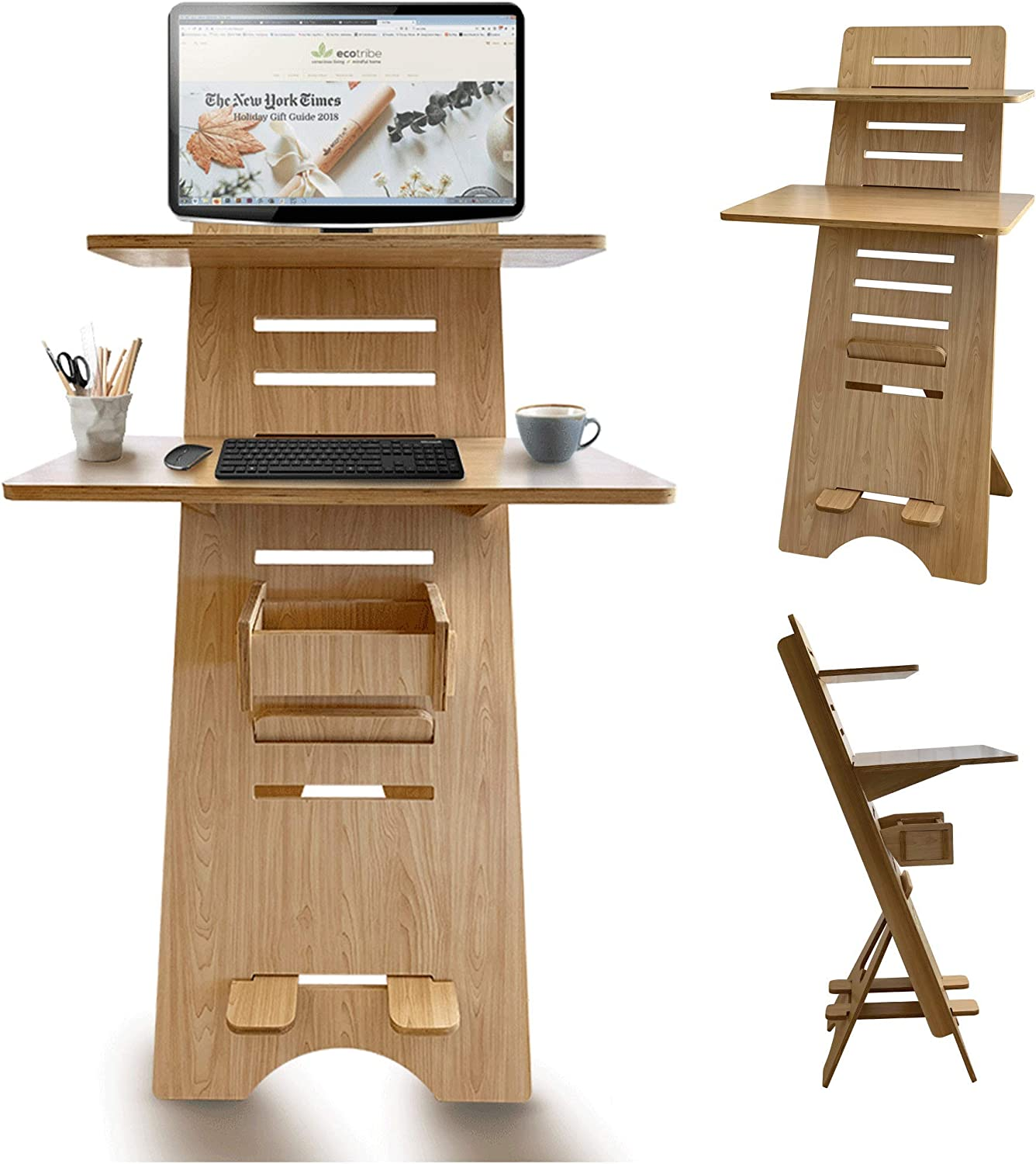 Modern Height Adjustable 2 Tier Desk Spaces for Bargain sale - Award-winning store Compact Small