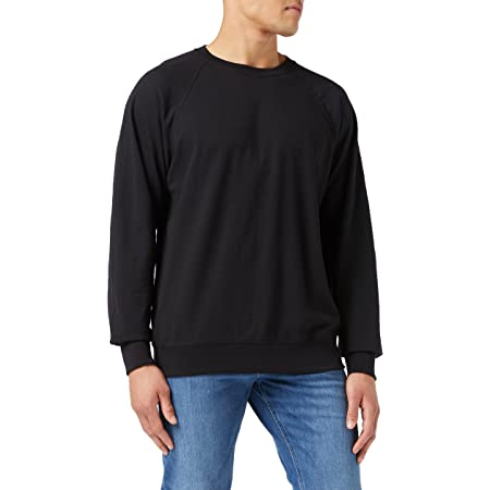 Fruit of the Loom Men's Lightweight Sweater, Black, X-Large