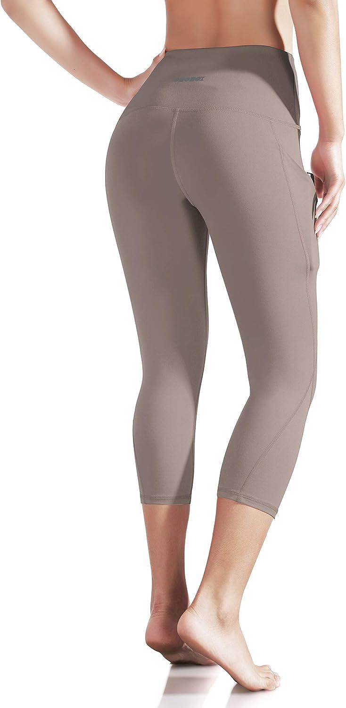 ODODOS Out Pocket High Waist Yoga Pants,Tummy Control,Pocket Workout Yoga Pant: Clothing