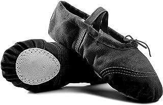 IIGDance Children's Ballet Dance Shoes Classic Gym Yoga Flats for Girls,Boys,Kid,Women