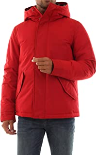 Penn-Rich by Woolrich Giubbotto Parka Short - M, Rosso