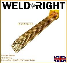 Weldrite 100x Aluminium Alu 4043 Tig Filler Welding Rods 1.6mm