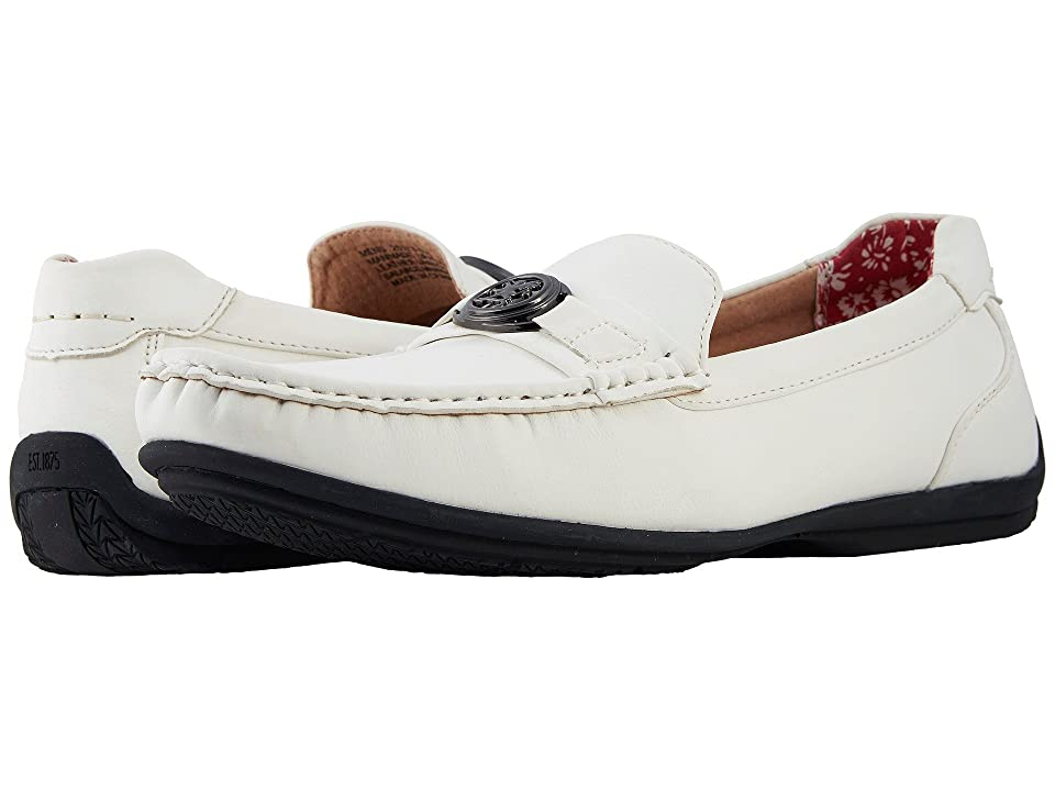 Stacy Adams Cyrus Slip On Casual Loafer (White) Men