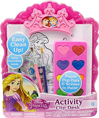Tara Toy Princess Water Farbe Clip Desk Playset