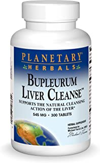 Planetary Herbals: Bupleurum Liver Cleanse 545 mg 300 Tablet