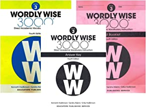 Wordly Wise 3000® 4th Edition Grade 3 SET -- Student Book, Test Booklet and Answer Key (Direct Academic Vocabulary Instruction)