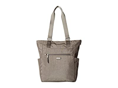 Baggallini New Classic Make Way Tote with RFID Wristlet (Sterling Shimmer) Handbags