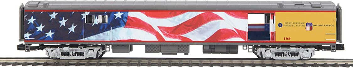 MTH 20-64089 Union Pacific Flag 70' ABS Baggage Car (Smooth) O Scale Trains