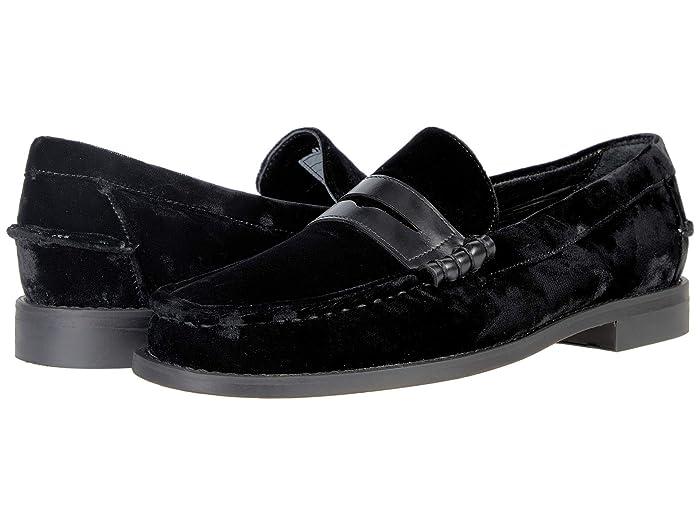 Mens Vintage Shoes, Boots | Retro Shoes & Boots Sebago Dan Total Velvet Black Mens Shoes $210.00 AT vintagedancer.com