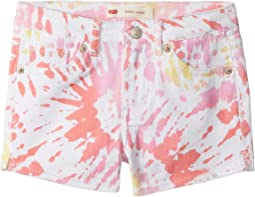 Levi's® Kids Best Coast Denim Shorty Shorts (Little Kids)