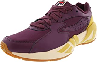 Fila Womens Mindblower Fabric Low Top Lace Up Walking Shoes US