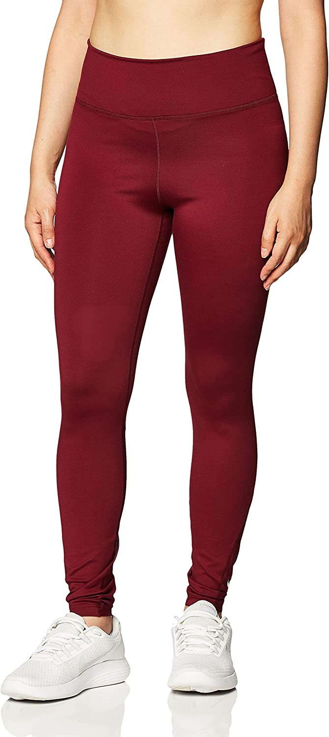 Shipping included Nike ONE Women's 7 8 NEW Beetroot Dark Tights Mid-Rise White