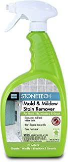StoneTech Mold & Mildew Stain Remover, Cleaner for Natural Stone, 24-Ounce (.710L) Spray Bottle