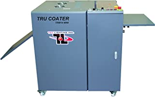 """TRUCOAT (TRM14-1-3D) Hand-fed Offline TRUV Flood Coater with 3-lamp IR & UV System, Max Sheet Size: : W: 14""""; Min/Max Paper Weights: 150gsm – 600gsm, up to 1,800 Sheets/Hour"""