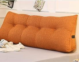 Feelme Triangular Support Cushion, Double Headboard Reading Lumbar Support Cushion, Large Support Pillow Rectangular for F...