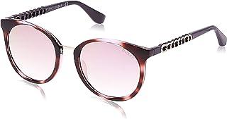 GUESS Unisex Adults' GU7544 83U 52 Sunglasses, Purple (Viola)