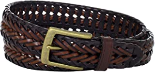 Columbia Men's Casual Leather Braided Belt