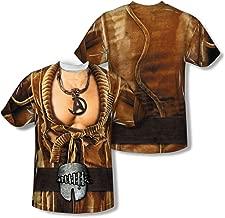 Star Trek II: Wrath of Khan Sci-Fi Khan Costume Adult 2-Sided Print T-Shirt
