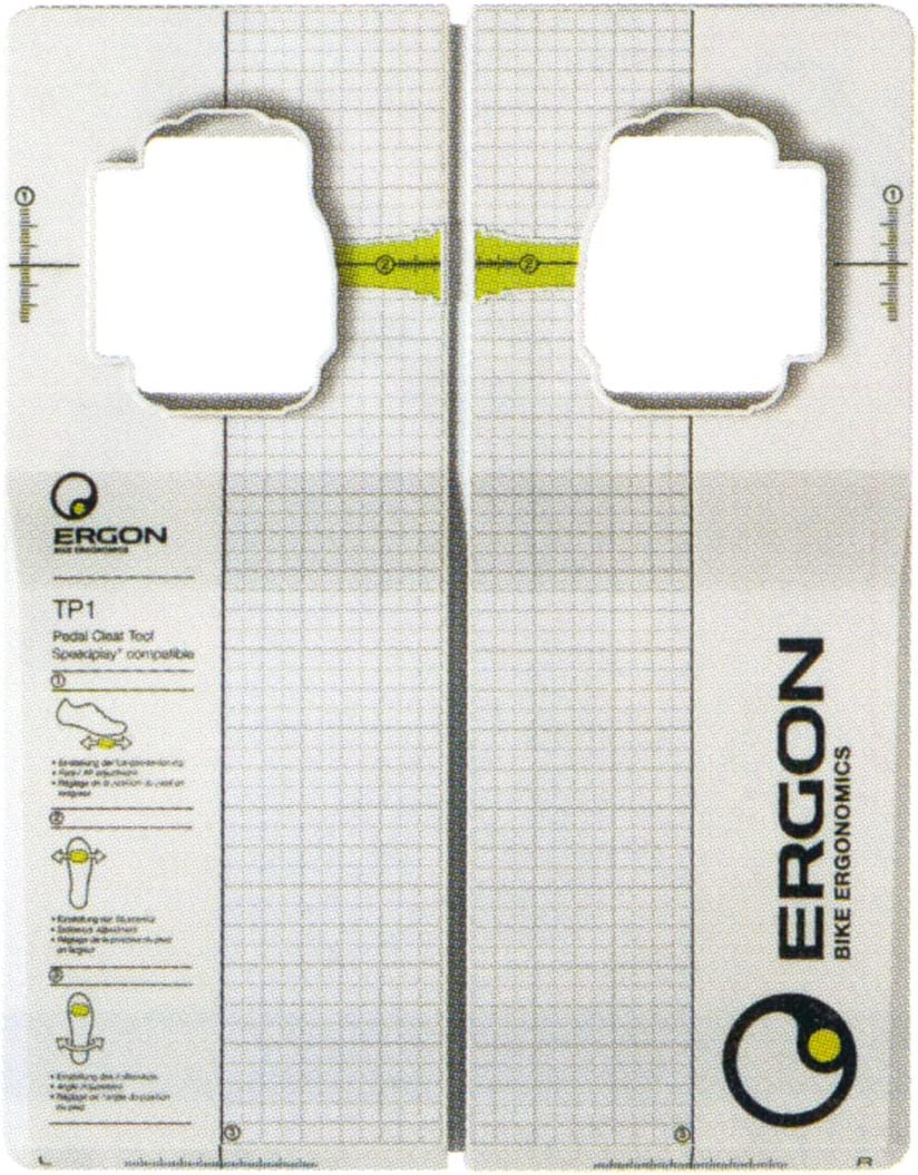 Ergon TP1 Max 43% OFF Pedal Speed Cheap super special price Cleat Tool Play