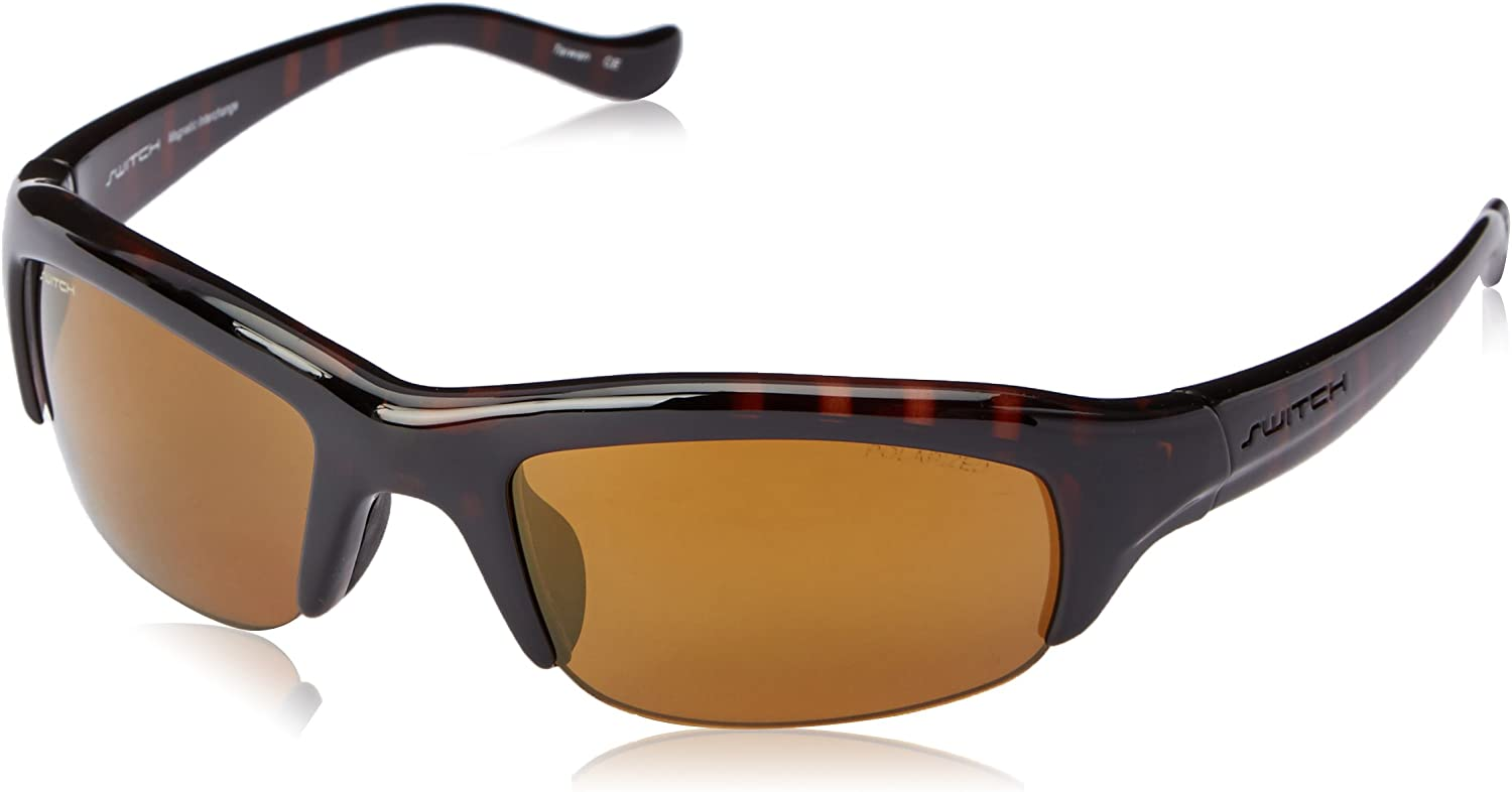 Switch Stoke Polarized Rectangular Sunglasses