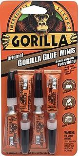 Gorilla Original Glue Tube Minis, 4 Count