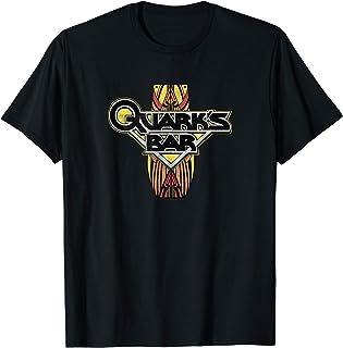 Star Trek DS9 Quark's Bar Vintage Logo T-Shirt
