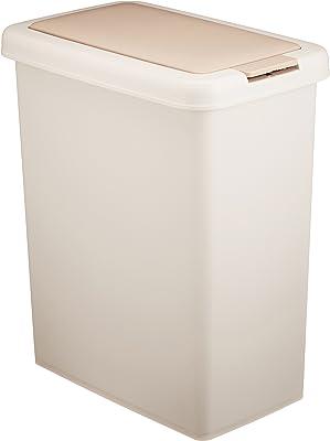 サンコープラスチック ゴミ箱 キッチン分別ワンプッシュ 26.5L ライトベージュ