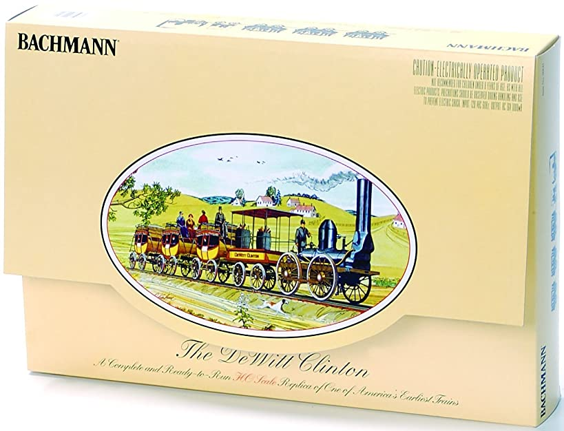 Bachmann Trains The DeWitt Clinton Ready-to-Run HO Train Set