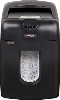 Rexel Auto + 130 M 130 sheets Micro Cut Shredder for Personal or Executive Use (Up To 2 Users), 26L Removable Bin, Include...