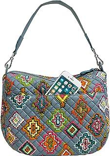 Vera Bradley Women's Signature Cotton Carson Shoulder Bag Crossbody Purse, One Size