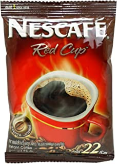 Nescafé Red Cup Instant Pure Coffee 100% Aroma Robusta Net Wt 45 G (1.58 0z) X 2 Bags