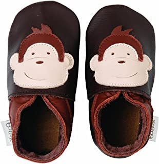 a573a2237 Bobux BB 4008 Babies' Shoes Chocolate-Coloured with