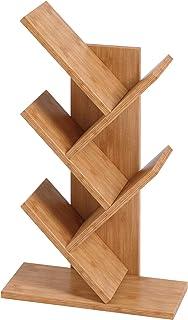 UMI. by Amazon Bibliothèque à 5 étagères en bois, étagère de rangement en bois MDF sur pied dans le salon/la maison/le bur...