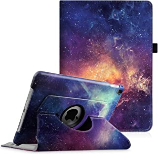 Fintie iPad Pro 9.7 Case - 360 Degree Rotating Stand Protective Cover with Smart Stand Cover Auto Sleep/Wake Feature for iPad Pro 9.7 inch (2016 Version), Galaxy