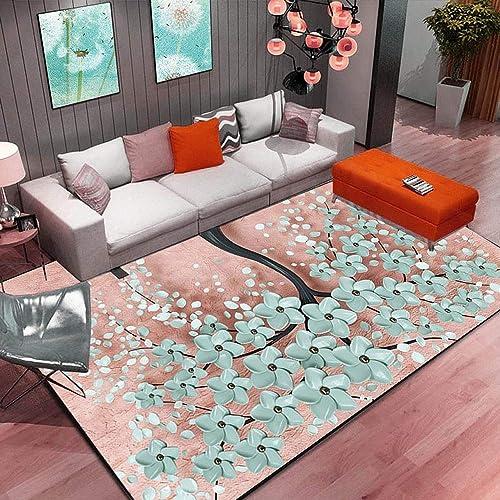 en venta en línea ZJ Alfombra Alfombra Alfombra Antideslizante Arte de la Sala de Estar del Dormitorio Floral Abstracto Alfombra de la Cocina área de la Alfombra (Pattern   6, Talla   31.4  47.2in)  liquidación hasta el 70%