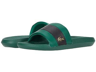 Lacoste Croco Slide 0120 1 (Green/Black) Men