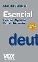 Diccionario esencial Deutsch-Spanisch Espanol-Aleman / Essential Deutsch-Englisch Spanish-German Dictionary (Spanish Edition)