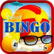 Fantasy Summer Beach Bingo Easy Free Bingo Original Bingo for Kindle Play Offline without internet no wifi Full Version Free Bingo Daubers