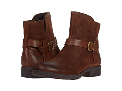 Born Syd (Bark (Brown) Distressed) High Heels