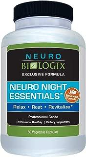Neurobiologix Neuro Night Essentials Sleep Supplement (60 Capsules)