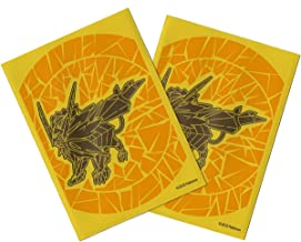 Pokemon Official Card Game Sleeves - Dusk Mane Necrozma Sun Moon Ultra Prism - 62ct Pack