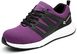Women's Steel Toe Shoes Lightweight Safety Work...