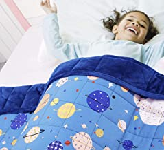 7 Layer Premium Blankets for Boys /& Girl All/&Sundry Kids Weighted Blankets Dinosaurs and Unicorn Design-5 Pounds Blankets Made from Soft Cotton Weighted Blankets with Removable Duvet Cover