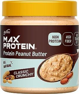 Ritebite Max Protein Peanut Butter Spread Classic Crunchy ([340 gm] ( Pack of 1))