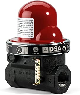 earthquake safety valve