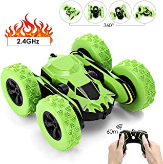 Stunt RC Car Toy Cars, RC Electric Racing Car, 360-degree Rotation Remote Control Off Road Monster Truck, with Flexible Arm 1:28 Scale 60M Remote Control Racing Car for Kids and Adult